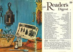 New Providence, Readers Digest, Vintage Pictures, Cover, Illustrator, November, Commercial, Thanksgiving, Painting