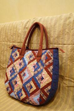 """Купить Сумка """"Акварель"""" - комбинированный, абстрактный, лоскутная сумка, прекрасный подарок, стильный аксессуар, хлопок"""