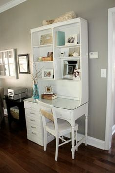 Desk With Hutch Design Ideas, Pictures, Remodel, and Decor - page 3