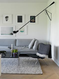 Grey in an interior, the easiest way to match everything together
