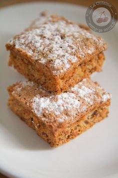recette Gâteau aux noix de Philippe Conticcini http://radisrose.fr/desserts-dautomne/ #recette #gateau #noix Quelques idées de recettes de desserts d'#automne pour un goûter après une balade en forêt pour ramasser des châtaignes