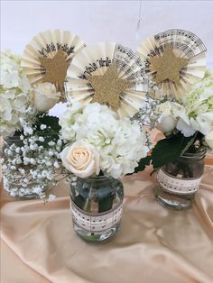 Twinkle Twinkle Little Star Baby Shower theme Center pieces