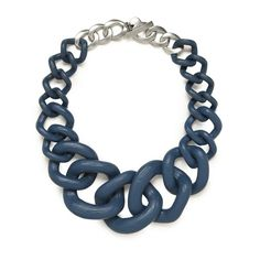 Jurrassic Collar Necklace ❤ liked on Polyvore featuring jewelry, necklaces, accessories, wendy gelman, collar necklace, blue necklace, baublebar, baublebar necklace and baublebar jewelry