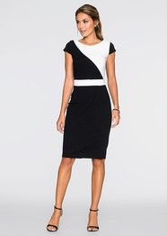6d4f473e4e7 Kleit Office Looks, Dresses For Work, Work Outfits, Cap Sleeves, Color  Blocking