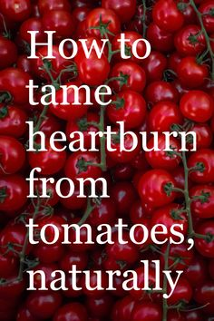 The acid in tomato sauce triggers heartburn for many. Use NaturCress to control stomach acid so you don't suffer the pain and discomfort. Live better with NaturCress natural heartburn relief. Home Remedies, Natural Remedies, Natural Heartburn Relief, Stomach Acid, Tomato Sauce, Peace Of Mind, Life Hacks, Health Fitness, Fandom