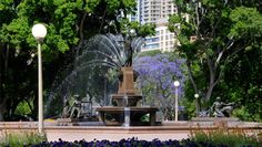 Hyde Park is Australia's oldest park with much charm.