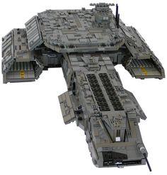 Lego Stargate sg1 U.S.A.F. DAEDALUS