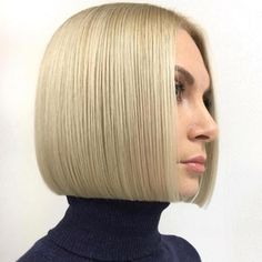 One Length Bobs, One Length Hair, Blunt Bob Hairstyles, Short Hairstyles For Women, Blunt Hair, Corte Bob, Shoulder Hair, Bad Hair, Short Hair