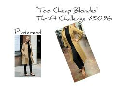 "Too Cheap Blondes ""Thrift Challenge"""