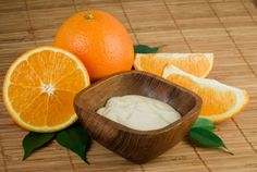 Orange body butter for my homemade beauty product gifts. From hellogiggles