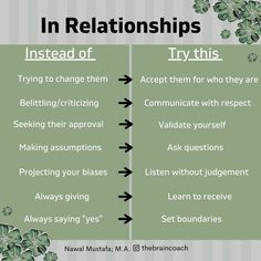 539 Likes, 8 Comments - Nawal Mustafa Relationship Advice Quotes, Relationship Therapy, Healthy Relationship Tips, Interpersonal Relationship, Best Relationship, Healthy Relationships, Relationship Improvement, Bff Quotes, Friend Quotes