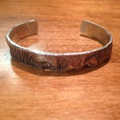 Sterling Silver Reticulated Cuff - $85 http://benchjewellery.ca/product/sterling-silver-reticulated-cuff/