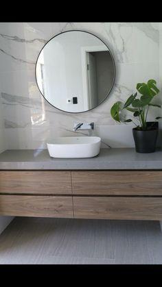 20 Stunning Marble Bathroom Sink Designs For Luxury Home - Dlingoo Best Bathroom Faucets, Bathroom Sink Design, Bathroom Goals, Bathroom Basin, Laundry In Bathroom, Modern Bathroom Design, Contemporary Bathrooms, Ideal Bathrooms, Beautiful Bathrooms