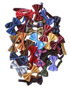 From ItalianModa : ANTARTIDE - PP Bow-Ties - Silk bow ties