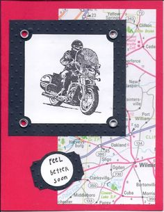 Born to Ride Get Well by kmgosha - Cards and Paper Crafts at Splitcoaststampers
