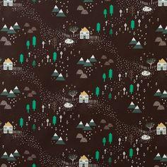 Donna Wilson - Mountain Home Lightweight Cotton (black)