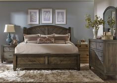 Modern Country Bedroom Set