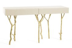 ginger & jagger's hand-crafted furniture draws influences from nature