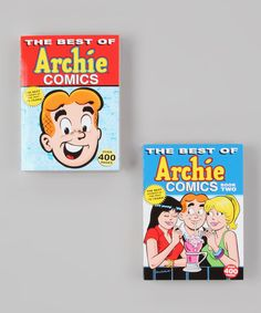 This full-color, year-by-year anniversary collection features two books with over 400 pages each of the best Archie stories by the greatest Archie creators. With each inclusion selected by noted Archie historians from over 200,000 pages of material, this is definitely the essential Archie collection. Includes Best of Archie Comics Vol. 1 and Best of Archie Comics Vol. 2