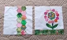 Craftsy BOM April - Like this one for a springtime quilt