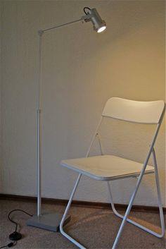 LED Floor Lamp - Adjustable Height by Hadeda on Etsy