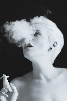 #smoking #smokinggirl #blondes #blackandwhite #photography #womenphotography