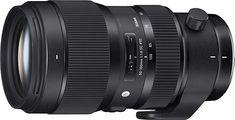 Sigma just announced a new fast-aperture Art lens: Sigma DC HSM Art Lens. Available for Canon EF, Nikon Canon Dslr Camera, Canon Lens, Camera Lens, Dslr Cameras, Digital Cameras, Sigma Art Lens, Sigma Lenses, Sigma 50, Black