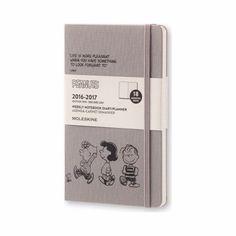 Moleskine 2017 Diary Peanuts L Planner Journal Korean Journey Korea Weekly 18mon…