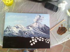 Volcanes en oleo