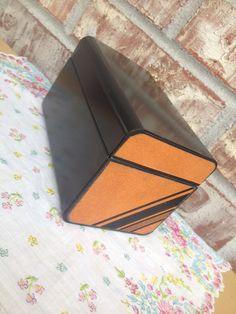 Sale Retro Black / Tan / Brown Stripe Design Index by RetroRetake, $11.95