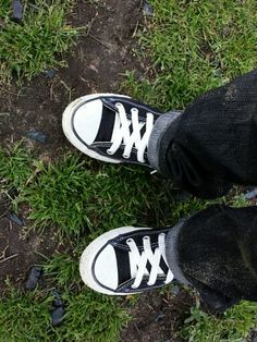 Converse! I wear them so much now my students are wearing them! Love