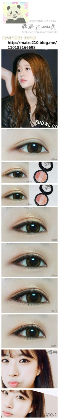 F(x)'s Krystal's make-up look~