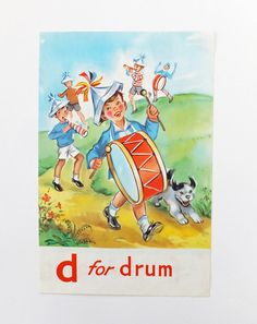 D for drum