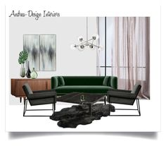 K40 by andrea-szakos on Polyvore featuring interior, interiors, interior design, home, home decor, interior decorating, Bowron, West Elm, Eichholtz and Torre & Tagus