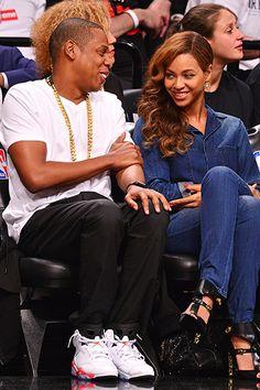 Celebrity Fans at NBA   NHL Playoff Games  Rihanna 267dcfdd3