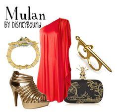Mulan Disney bound