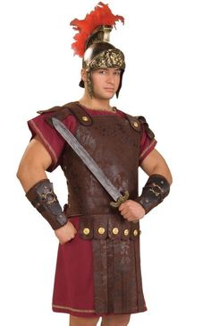 Roman Soldier Body Armor Centurion Costume Caesar Nativity Legionnaire #Rubies