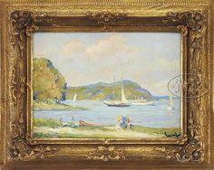 """EDWARD ALFRED CUCUEL (American, 1875-1954) """"A SUMM"""