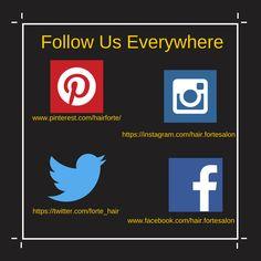 Follow us everywhere.