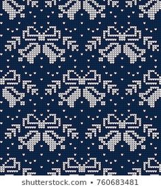 Imágenes similares, fotos y vectores de stock sobre New Year and Merry Christmas seamless background.; 525571948 | Shutterstock Knitting, Pattern, Dots, Xmas, Patterns, Illustrations, Knit Patterns, Breien, Tricot