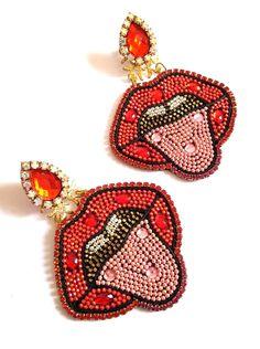 Crochet Earrings, Patches, Luxury, Jewelry, Fashion, Accessories, Jewellery Making, Jewlery, Jewelery