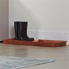 Metal Boot Tray