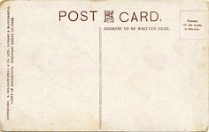postcard backs | post_card_views_s_hildesheimer_north_british_hotel_and_coat_of_arms ...