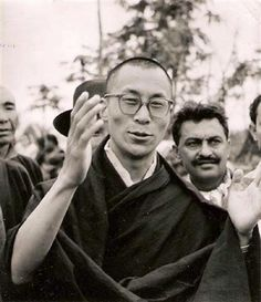 a very young Dalai Lama