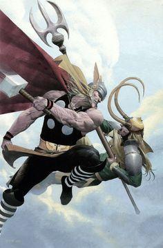 Loki #2. Capa desenhada por Esad Ribic
