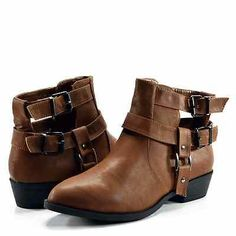 Betani Ruby 8 Cut Out Ankle Bootie Black or Tan | eBay