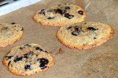LowCarb Chewy Chocolate Chip Cookies | Soulfood LowCarberia Blog