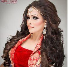 ShamilaNazir   Arabic makeup Arabic bride Wedding makeup Faryal makhdoom inspired makeup