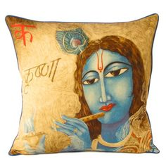 Woman Cushion Cover, now featured on Fab. Printed Cotton, Baby Items, Digital Prints, Objects, Cushions, Princess Zelda, Throw Pillows, Cover, Cushion Pillow