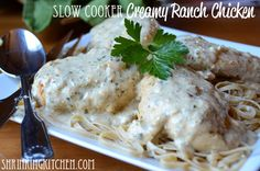 Slow Cooker Creamy Ranch Chicken (WW friendly)